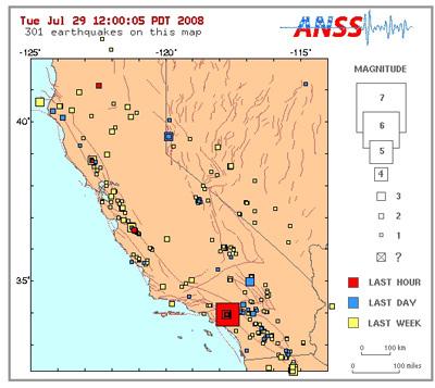 Los Angeles area earthquake with a dog